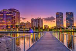 Clematis Street and Downtown West Palm Beach