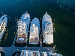 Waves, Wings, & Wheels event yacht lineup