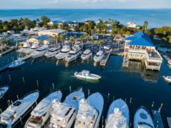 Anna Maria Island marina view Waves, Wings, & Wheels event