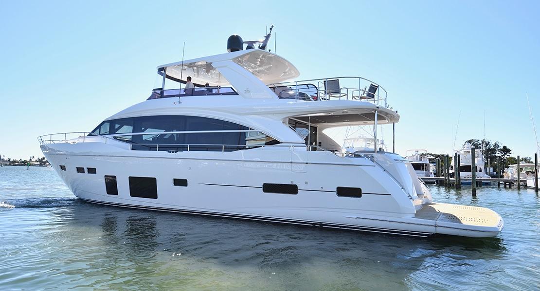 75 Princess Charter Yacht