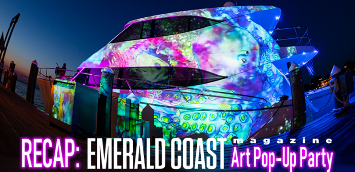 recap Emerald Coast Magazine Art Pop-Up Party