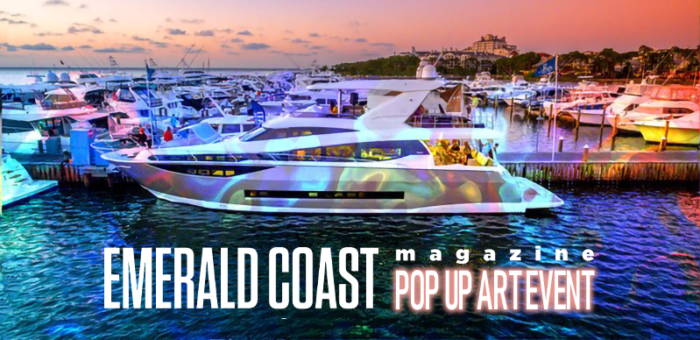 Emerald Coast Magazine Pop Up Art Event