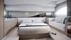 Princess Yachts F45 owners stateroom