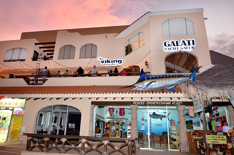 Galati Yacht Sales Cabo Office
