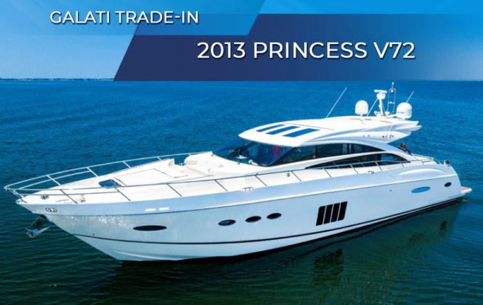 Galati Trade-In Yacht 2013 Princess Yachts V72