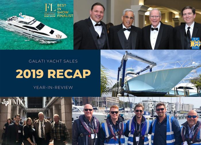 Galati Yacht Sales Year-in-Review 2019 Recap
