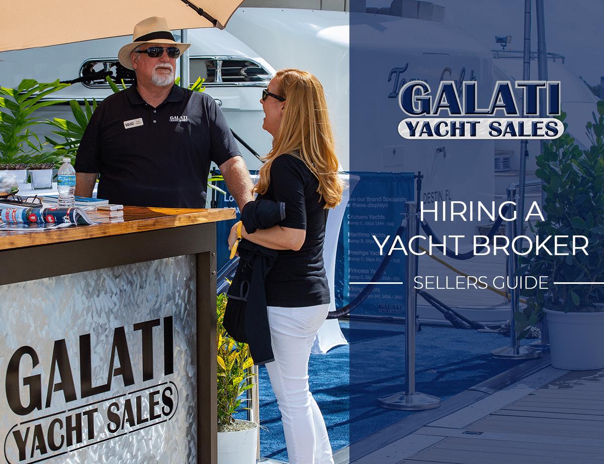 Hiring a yacht broker