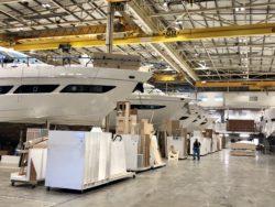 Princess Yachts Factory Tour