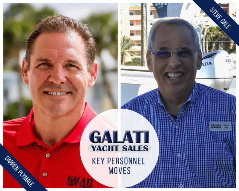 Galati Yacht Sales Announces Key Personnel Moves