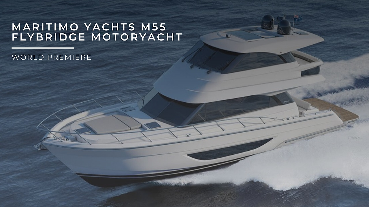 Maritimo Yachts M55