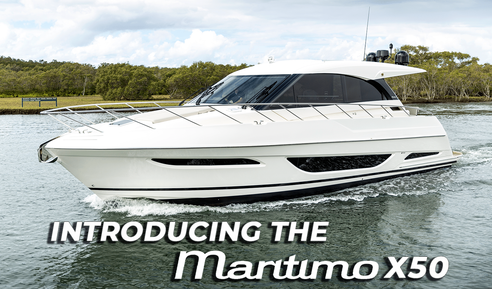 Maritimo X50 Sport Yacht Makes World Premiere