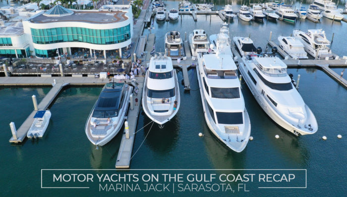 Motor Yachts on the Gulf Coast Marina Jack