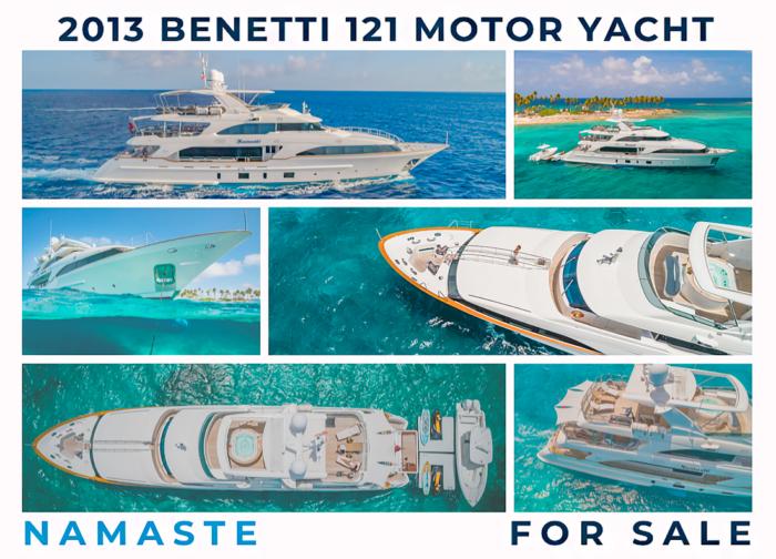 NAMASTE Benetti 121 Motor Yacht For Sale