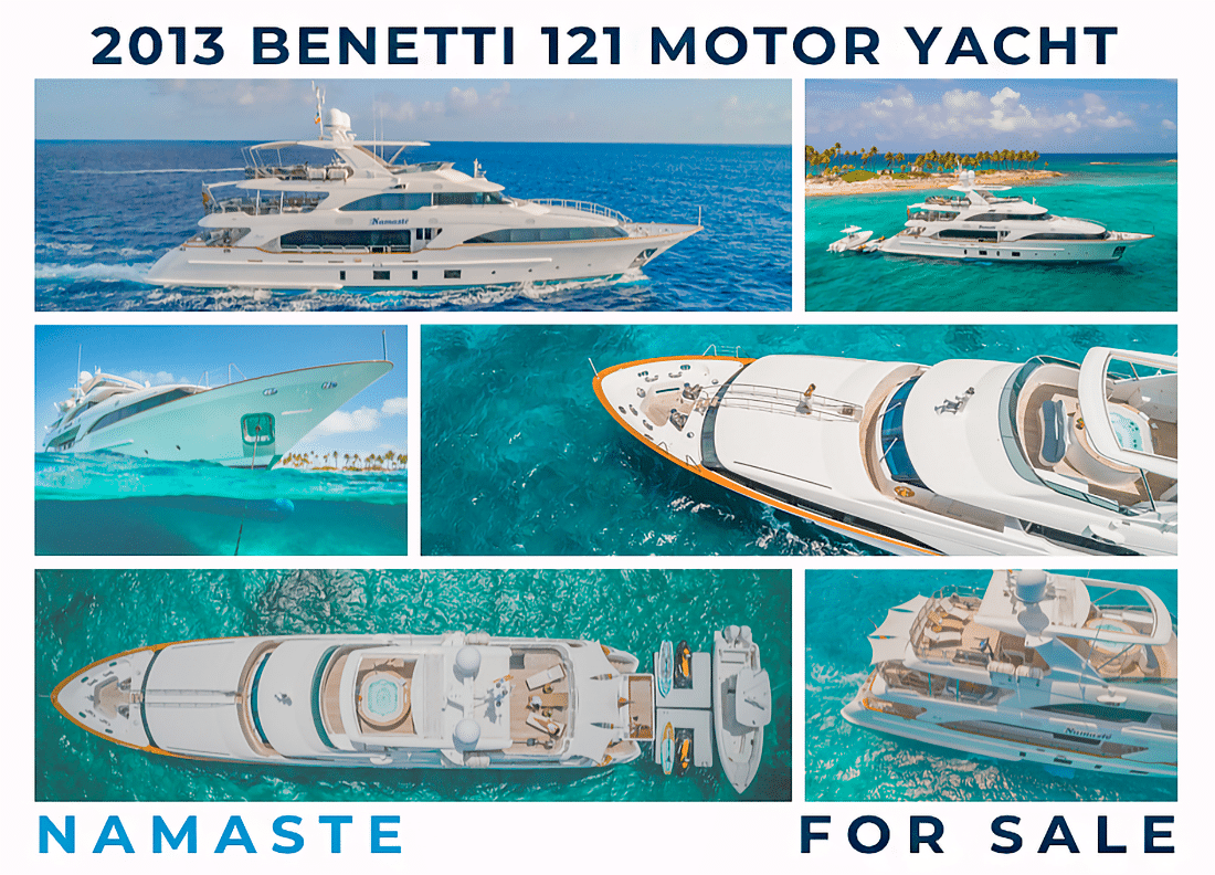NAMASTE Benetti 121 Motor Yacht For Sale