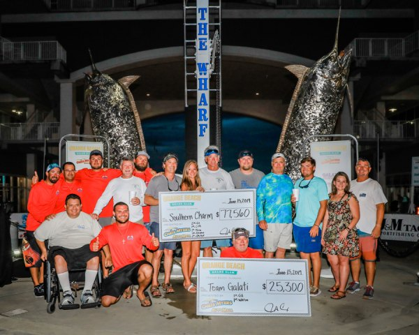 Team Galati at Orange Beach Grand Slam