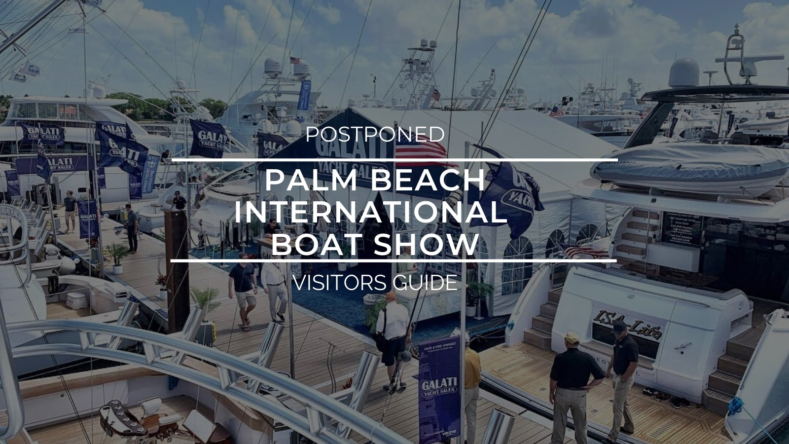 Palm Beach International Boat Show Visitors Guide
