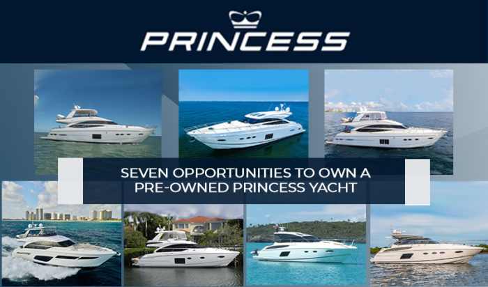Pre-owned Princess Yacht
