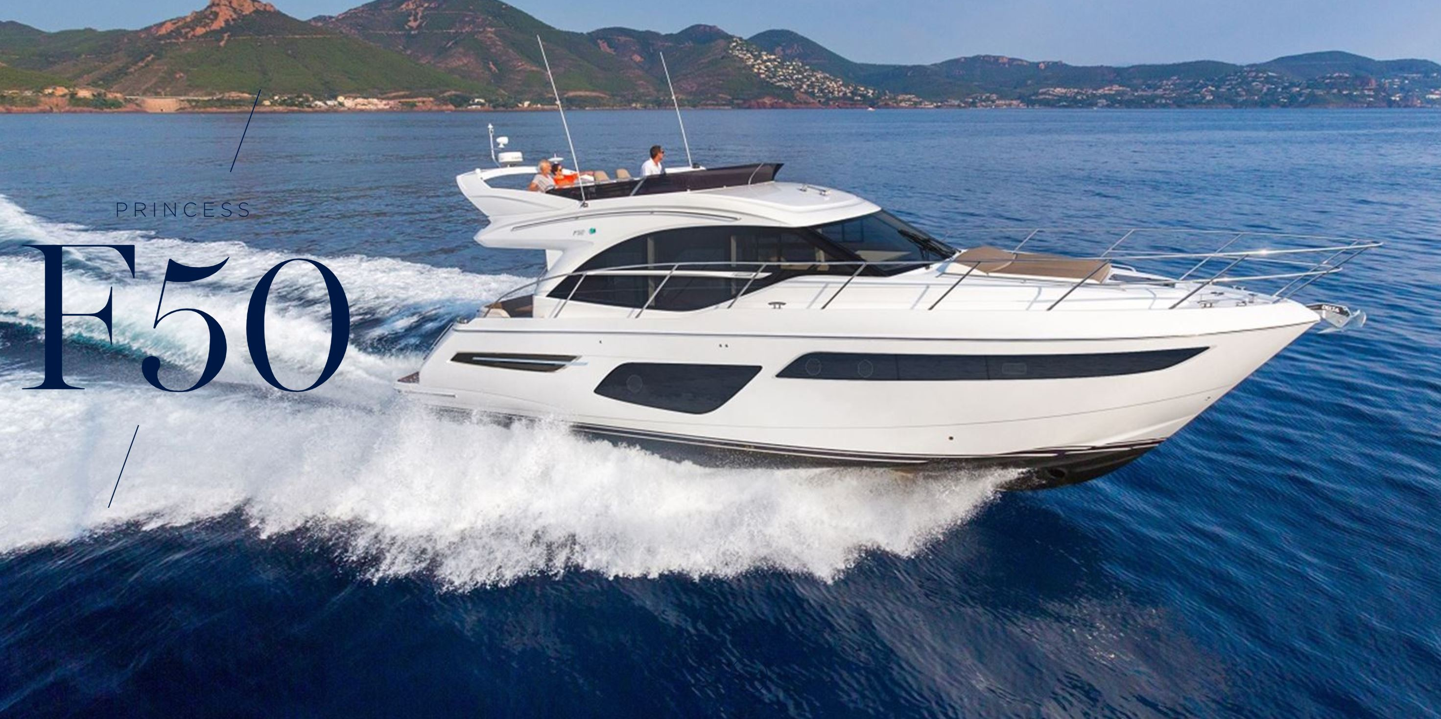 Princess Yachts F50
