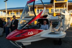 Waves, Wings, & Wheels event- light sport plane