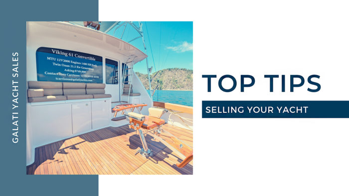 Top Tips Selling Your Yacht