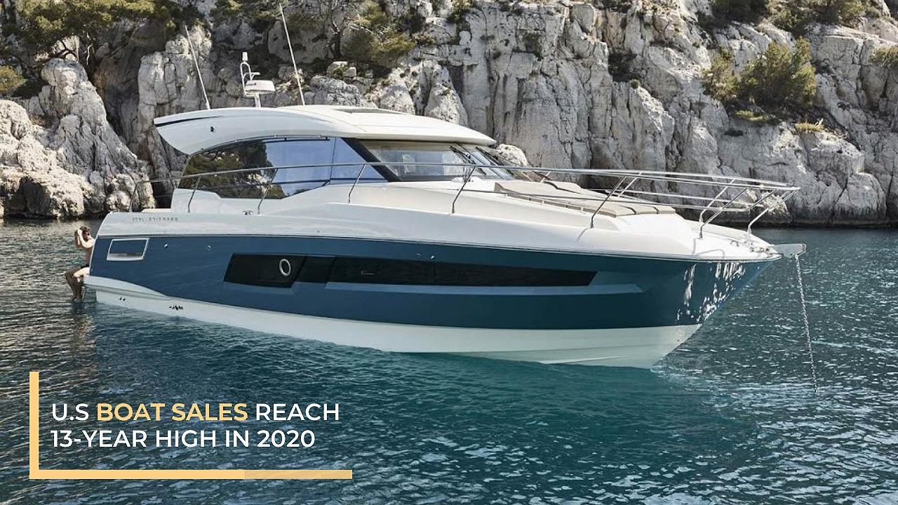 U.S Boat Sales Reach 13-Year High in 2020
