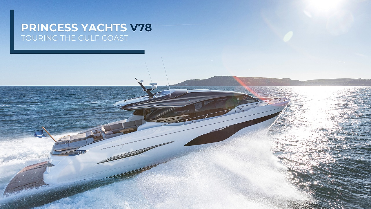 Princess Yachts V78