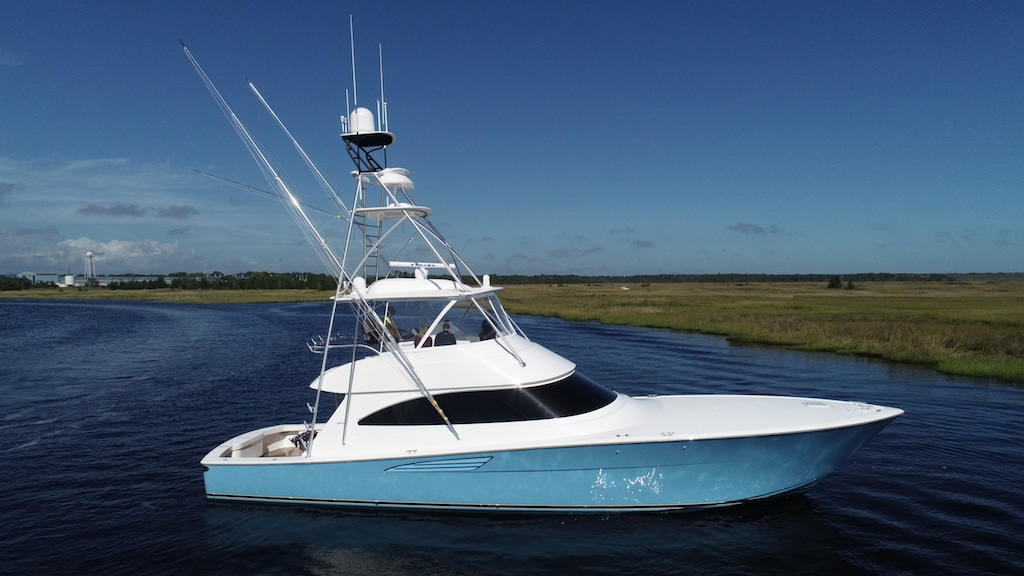 Viking Yachts 58 Convertible profile