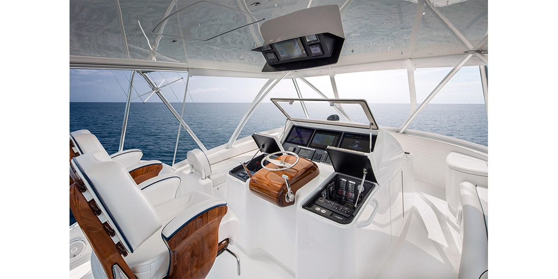 Viking 58 Convertible flybridge2