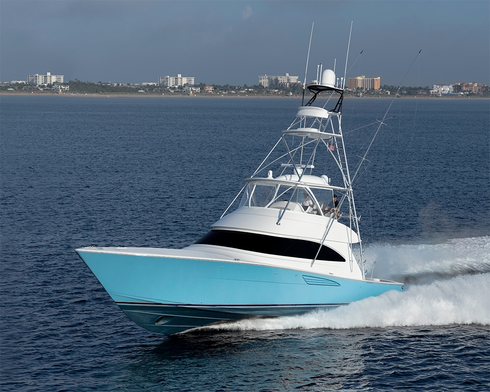 Viking 58 Convertible running