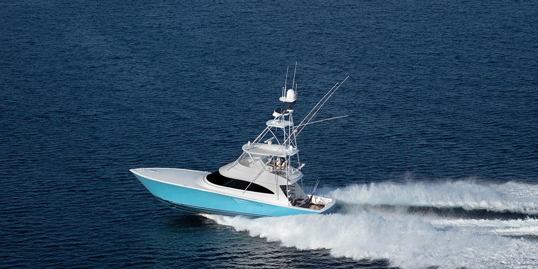 Viking 58 Convertible running4