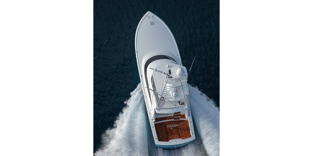 Viking 58 Convertible runningabove3