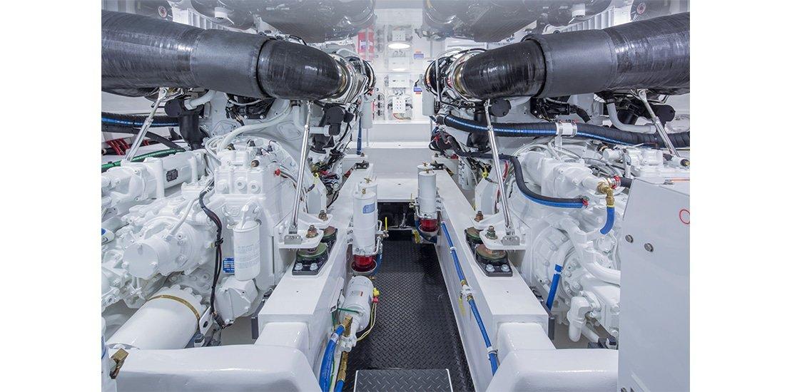 Viking 62 Convertible Engines 2