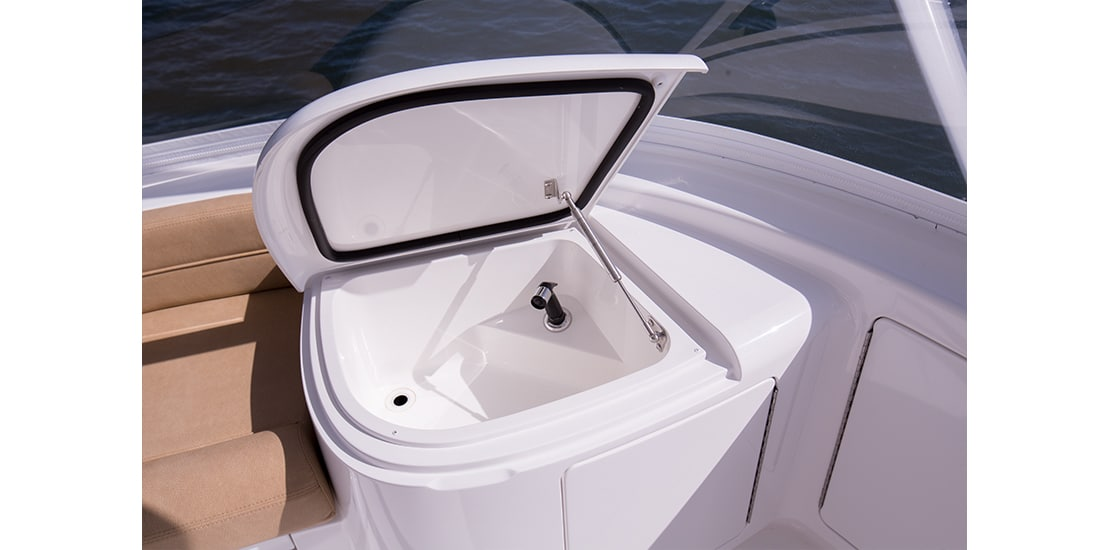Viking 62 Convertible Flybridge Sink