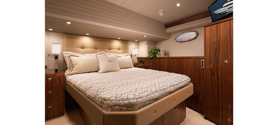 Viking 75 Motor Yacht Stateroom 3