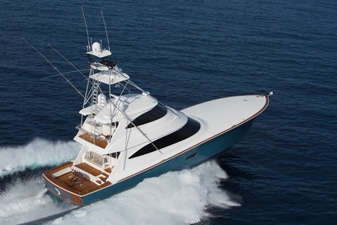 New Viking 80 Enclosed Bridge Yacht