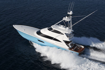 New Viking 92 Enclosed Bridge  Yacht
