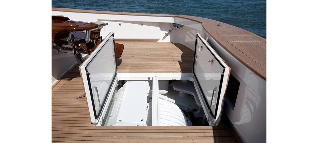 Viking 92 Enclosed Bridge Cockpit 3