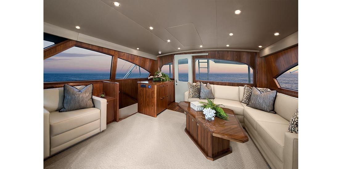Viking 92 Enclosed Bridge Salon 2