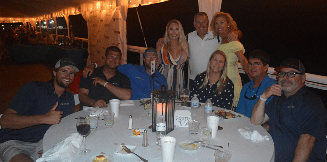 Viking Key West Challenge dinner