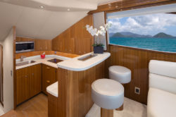 Viking 44c galley bar