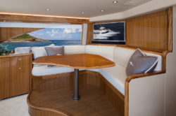 Viking Yachts 44 C galley