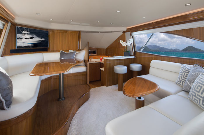 Viking 44 C interior