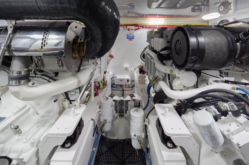 Viking44C engine room