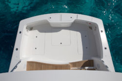 Viking Yachts 44 cockpit