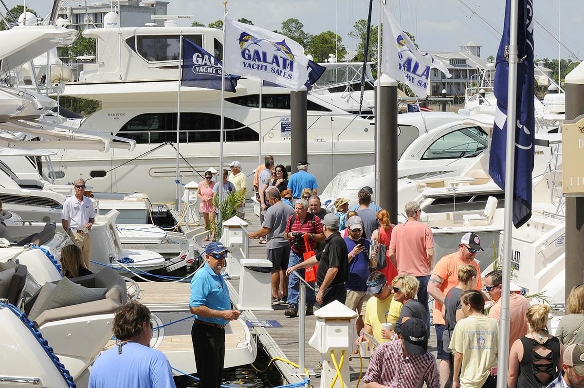 Galati Yachts at the Wharf Boat Show