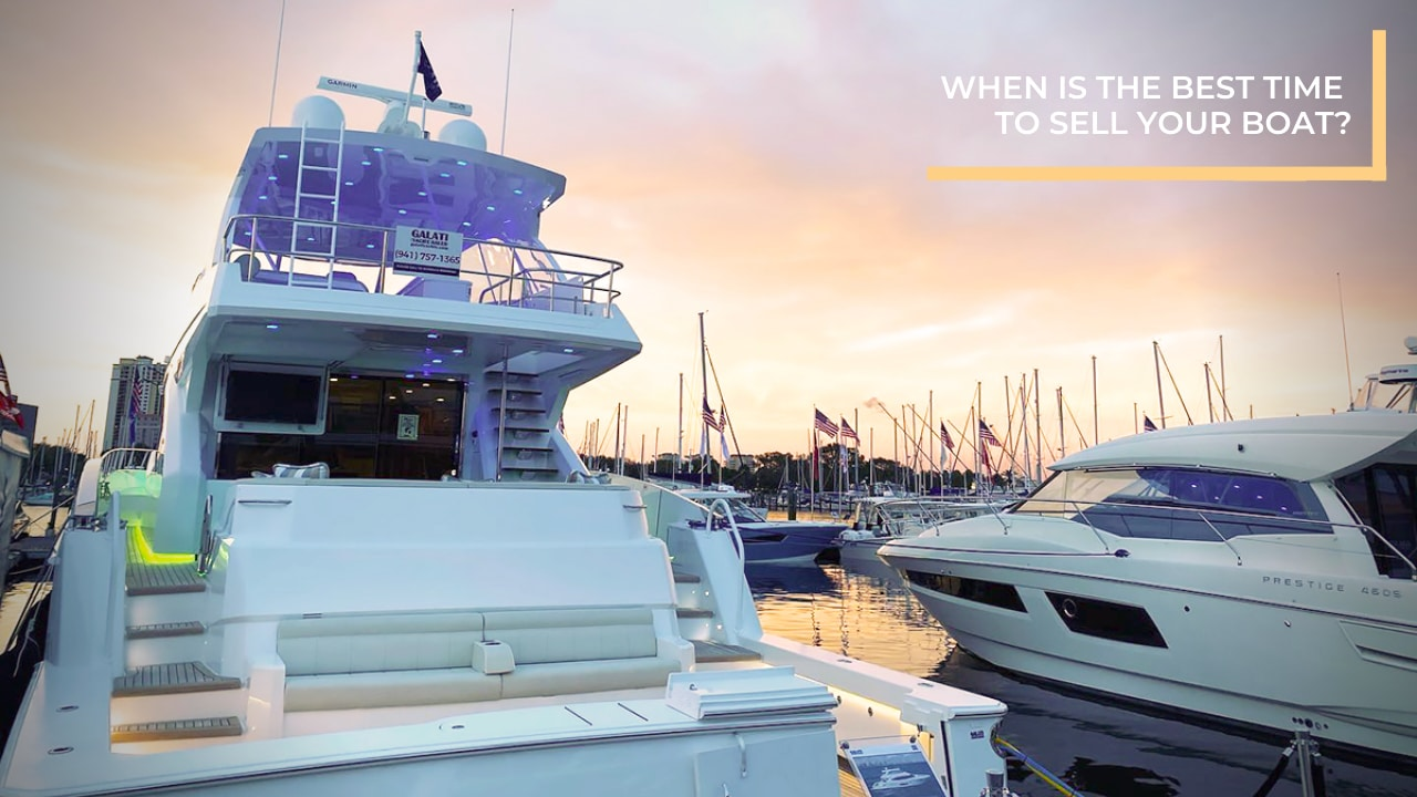 When is the best time to sell your boat?