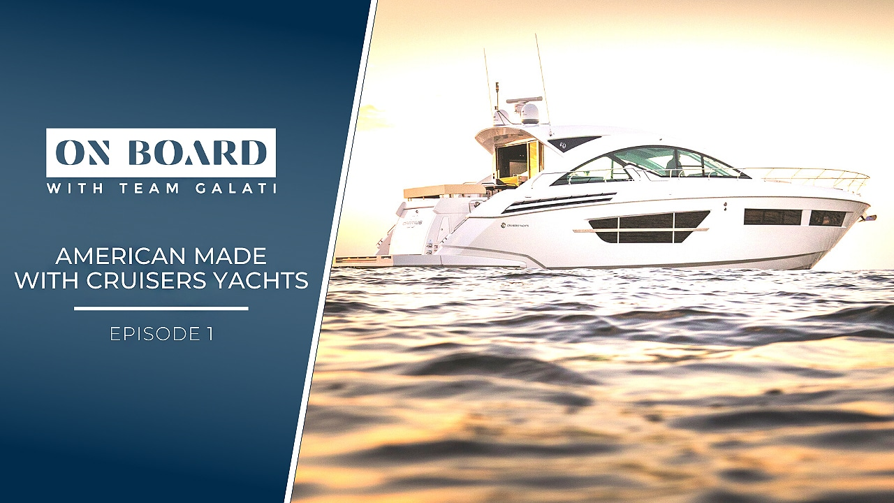 American Made with Cruisers Yachts