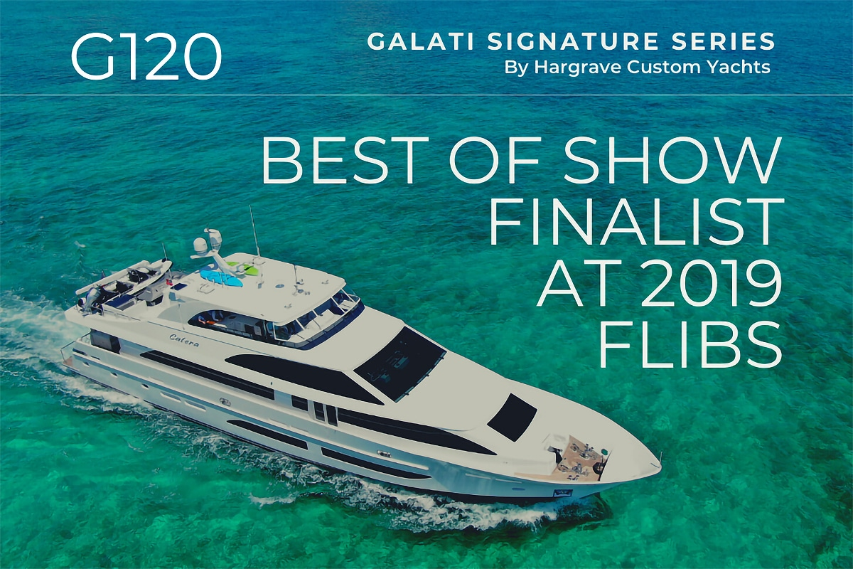 G120 Best of show finalist at FLIBS