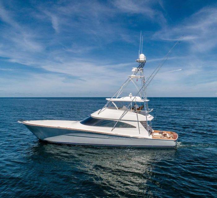 72 Viking Blue Bird Yacht Sold