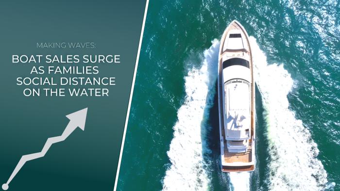 Boat Sales Surge